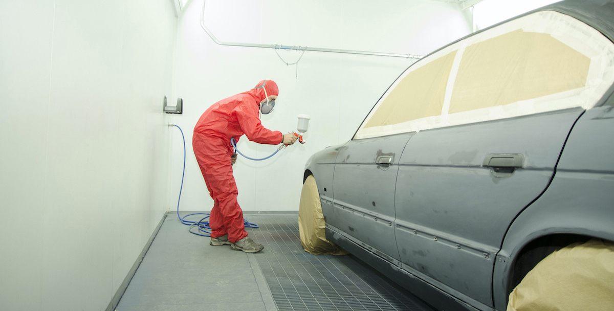 Cabine de Peinture Automobile 28